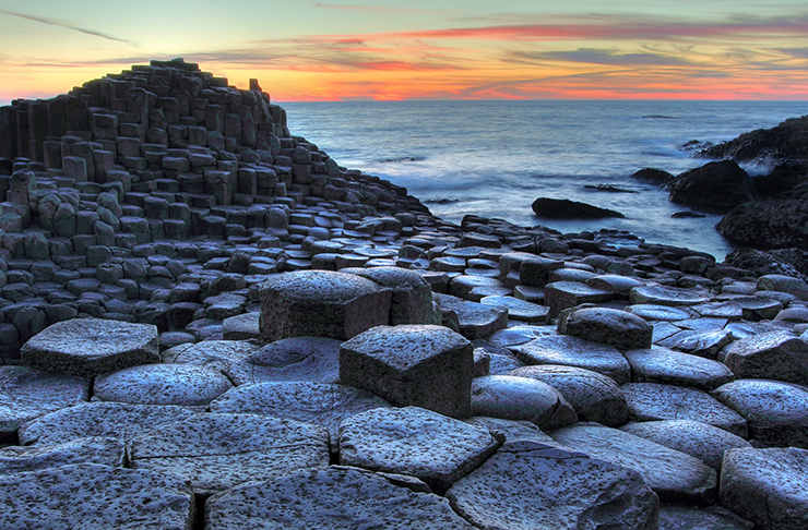 Giant's Causeway Beach, Ireland - the world's most unusual beaches