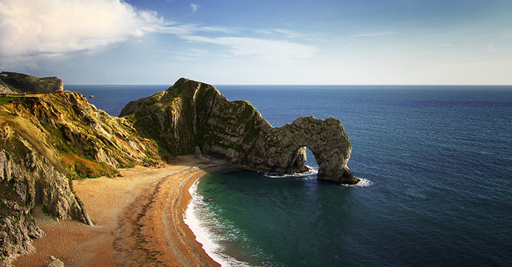 Man of War Bay, England - the world's most unusual beaches
