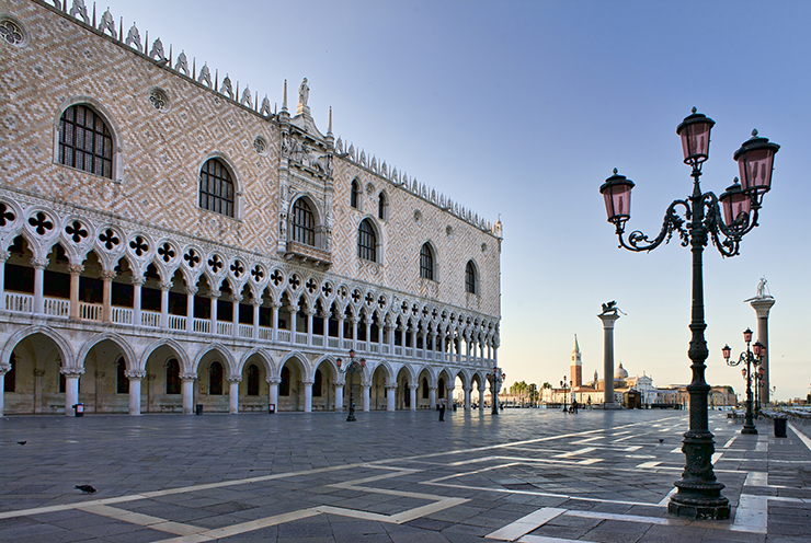 Doge's Palace - best places to celebrate Halloween