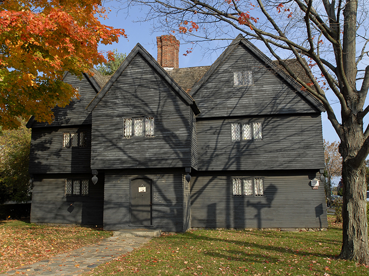 Jonathan Corwin's house - best places to celebrate Halloween