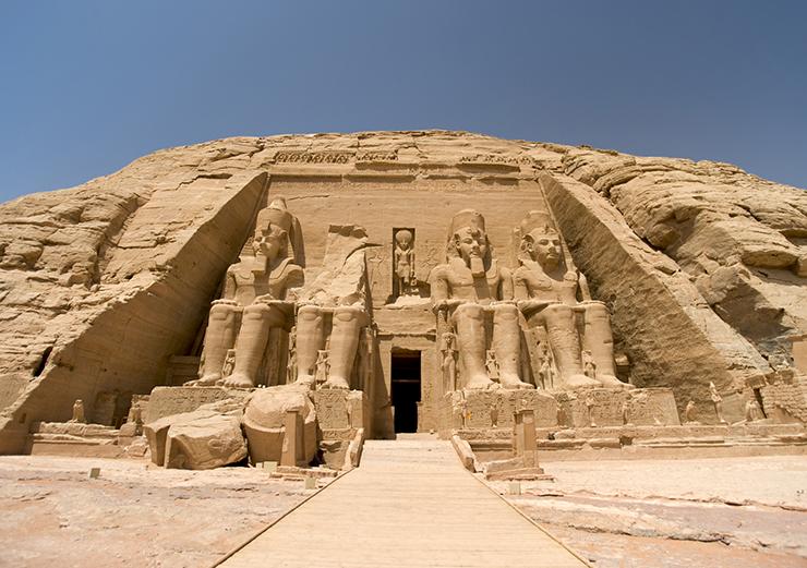 Abu Simbel - Five Monuments of Egypt