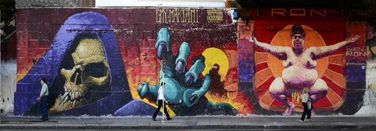 Street art - free things to do in Buenos Aires