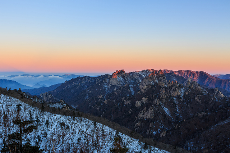 Mount Seoraksan National Park - Best National Parks in Asia