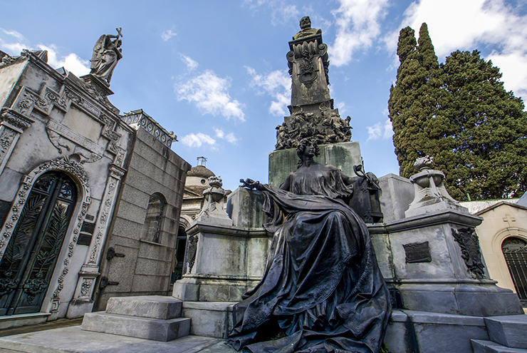 La Recoleta Cemetery - free things to do in Buenos Aires