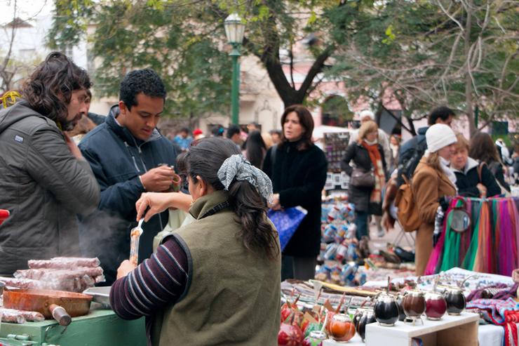 San Telmo Flea Market Buenos Aires