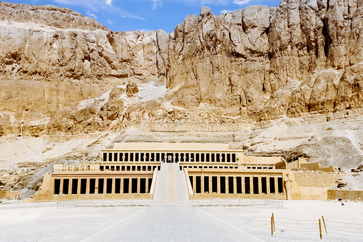 The Temple of Queen Hatshepsut - Five Monuments of Egypt