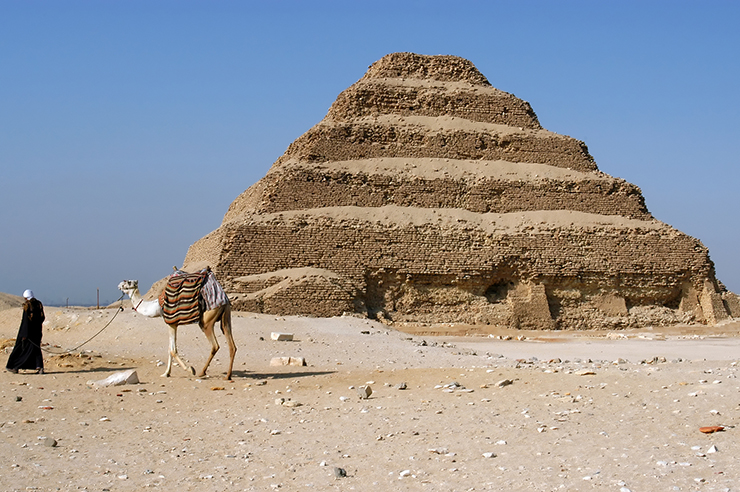 Zhoser's Step Pyramid - Five Monuments of Egypt
