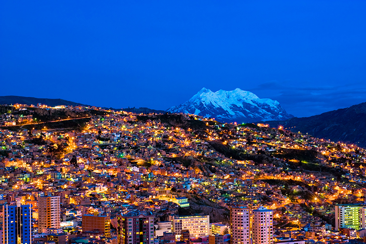 La Paz, Bolivia - cities to visit in South America