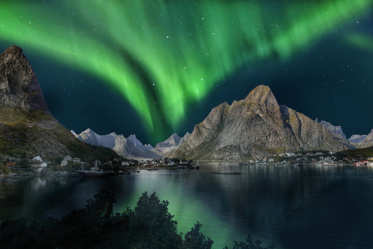 Interesting facts Northern Lights