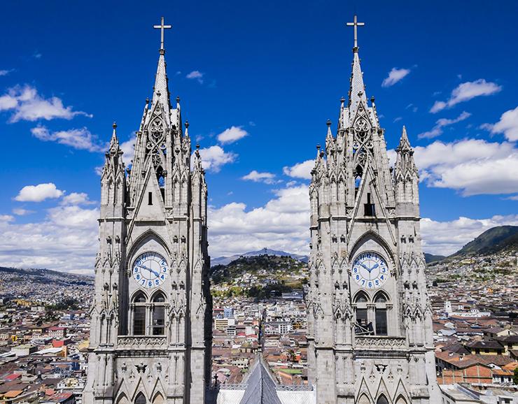 Quito, Ecuador - cities to visit in South America