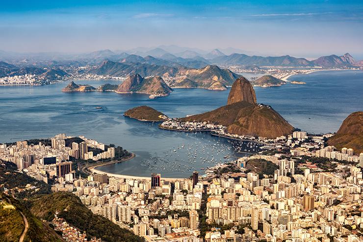 Rio de Janeiro - cities to visit in South America