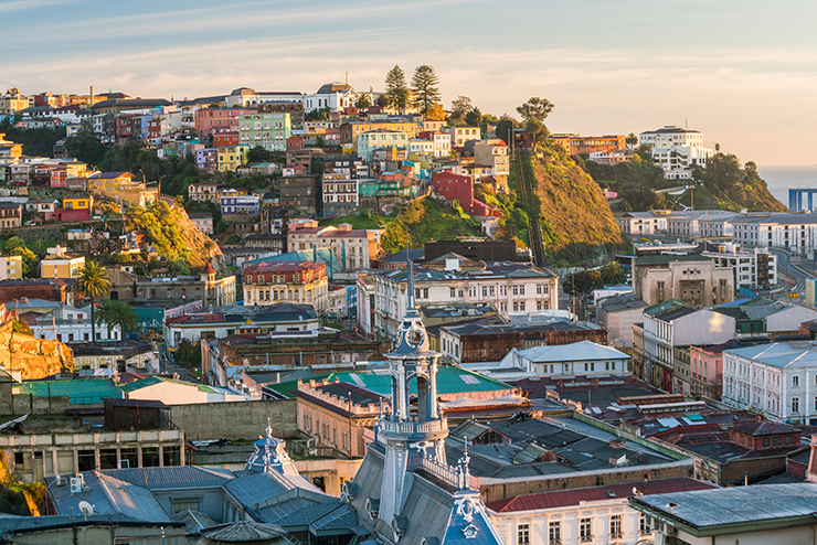 Valparaiso, Chile - cities to visit in South America