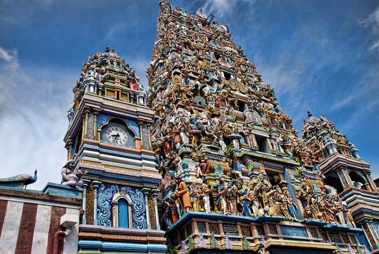 Captain's Garden Hindu Temple in Colombo, Sri Lanka