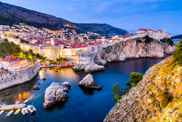 Dubrovnik, the setting for one of the best summer events in Croatia