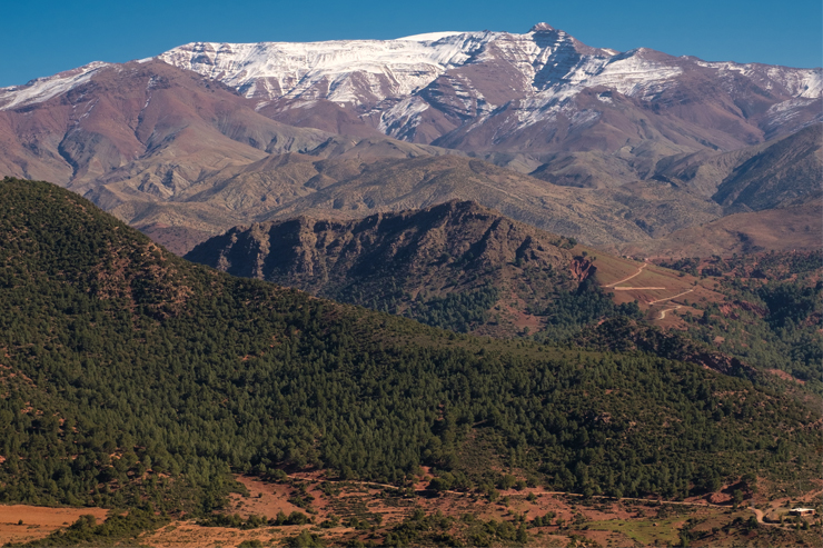 High Atlas Mountains in Morocco, a destination that should be on your trekking bucket list