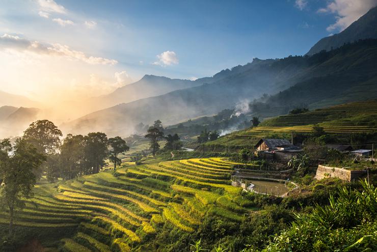 Hill trails near Sapa in Vietnam, a destination that should be on your trekking bucket list