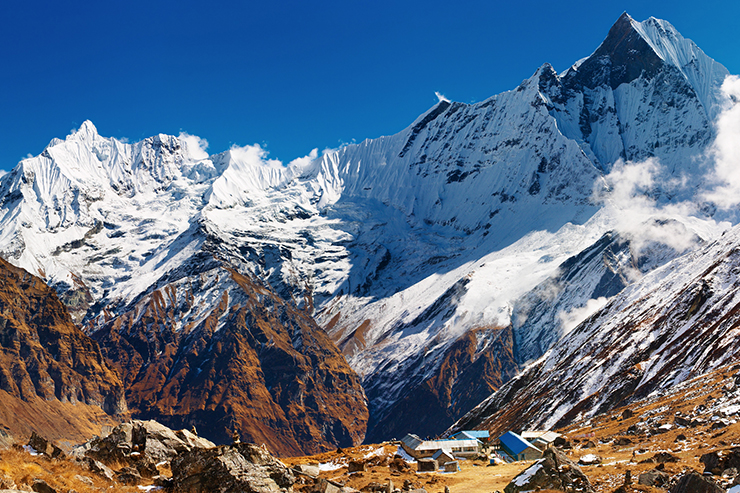 Annapurna Sanctuary in Nepal, a trek that should be on your trekking bucket list