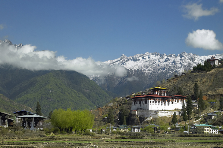 The town of Paro on the Druk Path, a hike that should be on your trekking bucket list