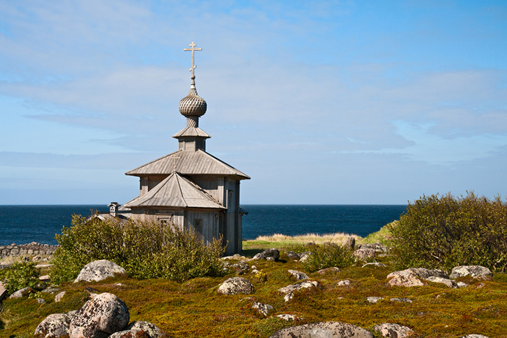 Church St Andrew on the Solovki Islands
