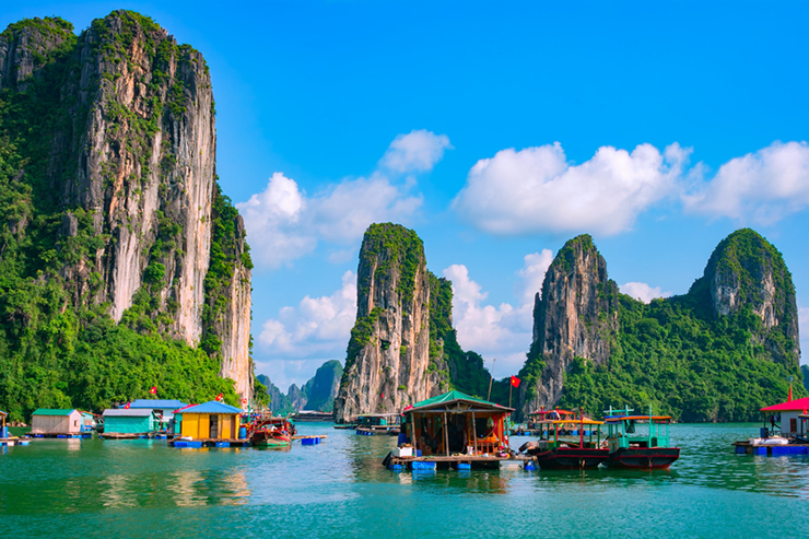 Halong Bay in Vietnam, one of the best family holiday destinations