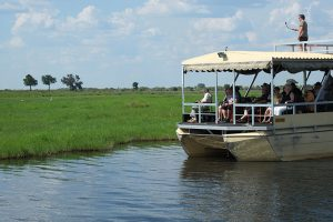 River cruise in Chobe - overland camping vs lodge-accommodated safaris