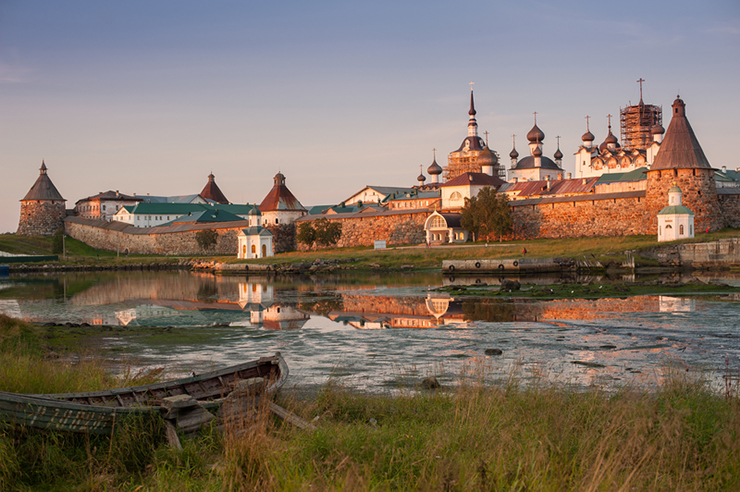 Solovki Monastery, one of the top attractions on the Solovki Islands