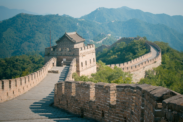 The Great Wall in China, one of the best family holiday destinations