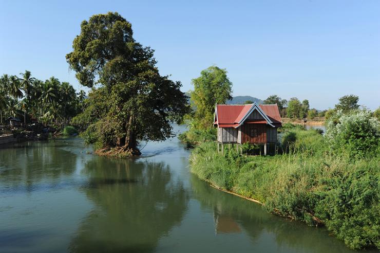 Don Khong island in Laos