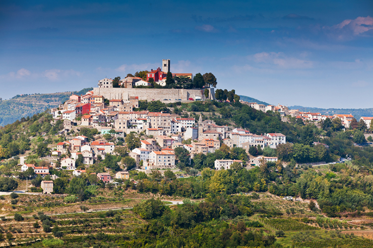 Istria Peninsula in Croatia