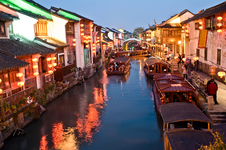 Suzhou in China, a destination great for solo travel off the beaten track