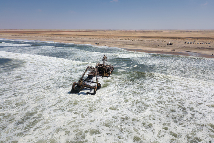 Skeleton Coast in Namibia - best places to visit in southern Africa