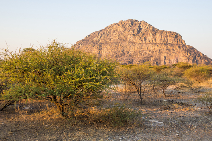 Tsodilo hills in Botswana - best places to visit in southern Africa