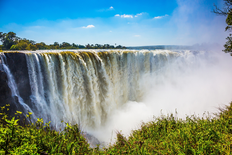 Victoria Falls in Zimbabwe - best places to visit in southern Africa