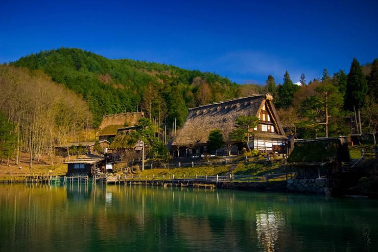 Hida Folk Village in Japan