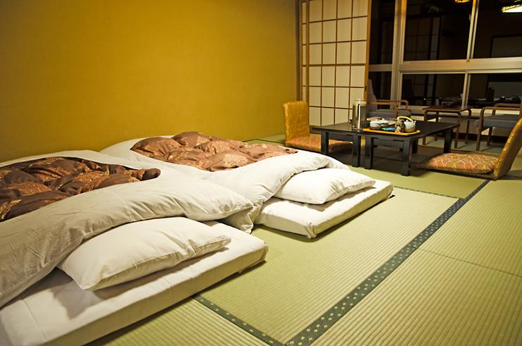 Interior of a Japanese Ryokan