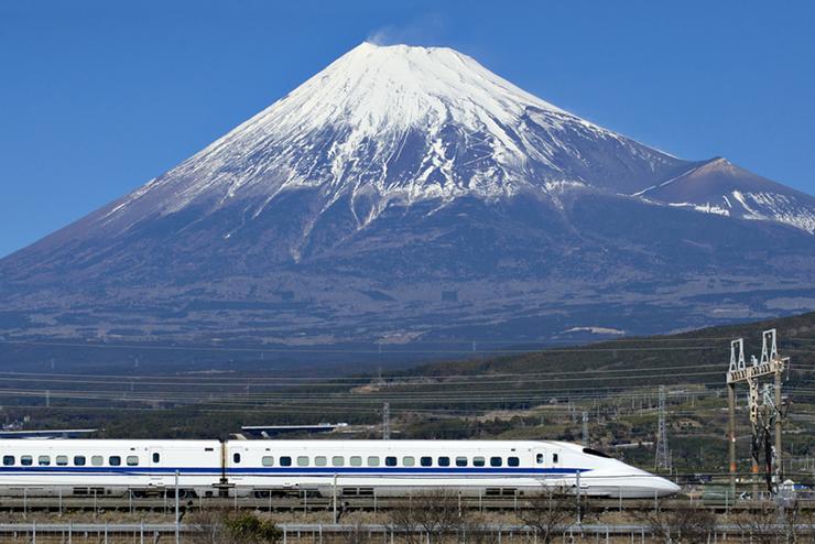 Tokaido Shinkansen in Japan