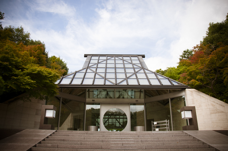 Miho Museum in Shiga, Japan