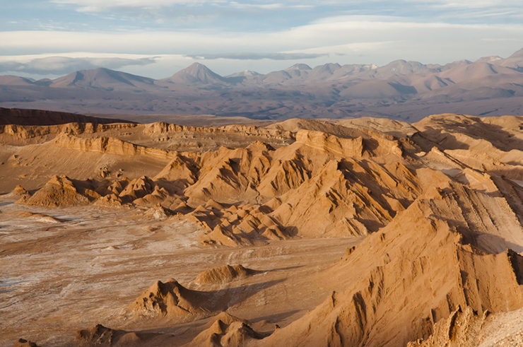 Valley of the Moon in the Atacama Desert, Chile