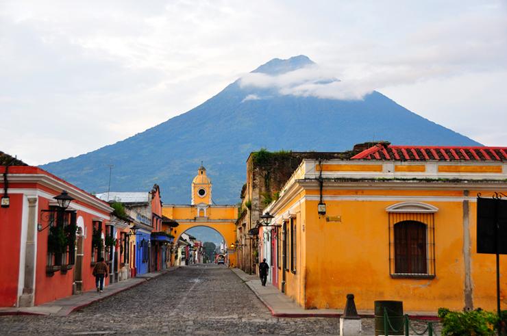 Colonial City of Antigua in Guatemala