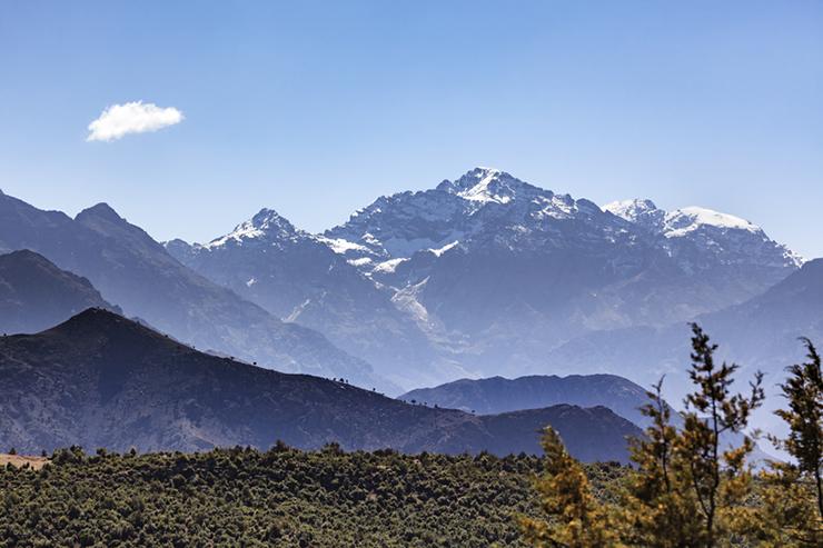 Mount Toubkal, High Atlas Mountains, Morocco