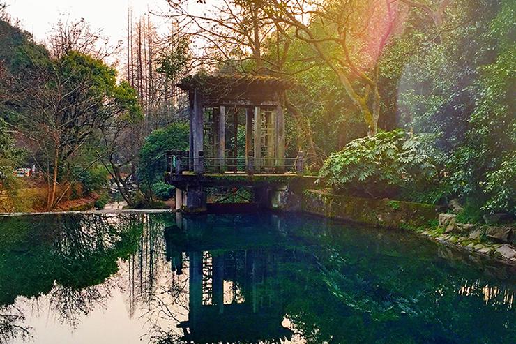 Nine Creeks Trail in China