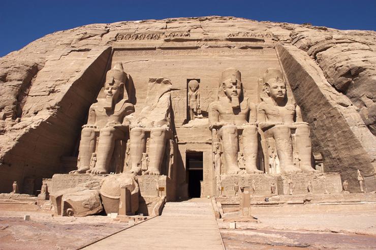 Temple of King Ramses II, Abu Simbel, Egypt