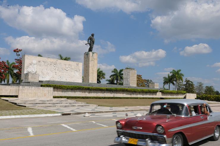 The Che Guevara-Memorial in Santa Clara, Cuba