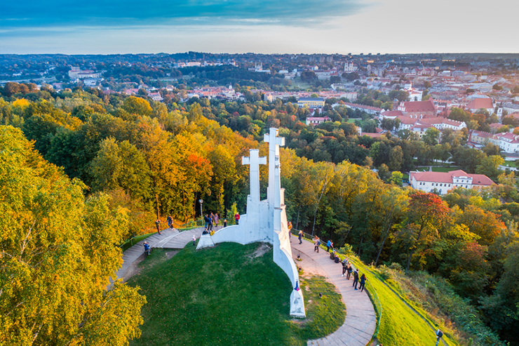 The Hill of Three Crosses, Vilnius, Lithuania