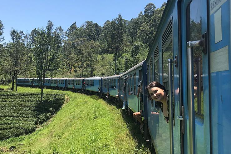 Kandy to Nuwara Eliya route by train, Sri Lanka