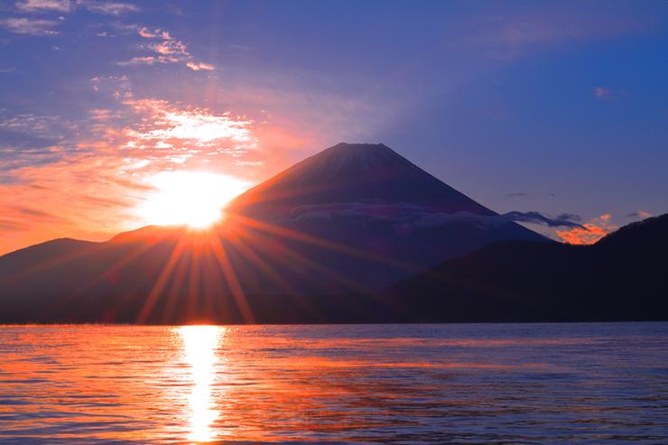 Sunrise over Mount Fuji, Japan
