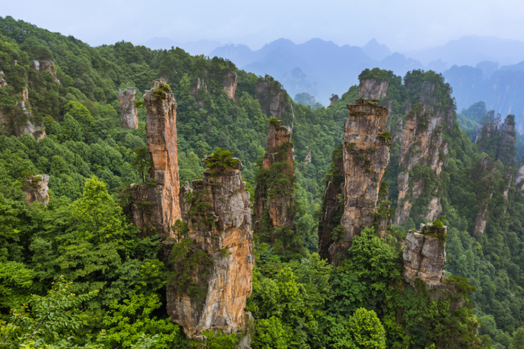 Tianzi Avatar mountains nature park, China