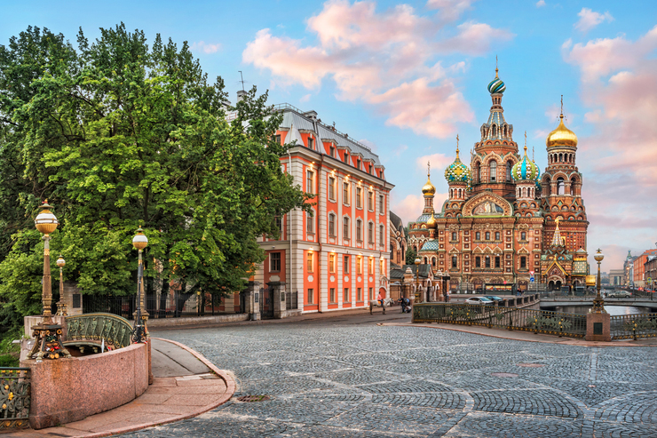 Cathedral of the Savior on Spilled Blood, St Petersburg