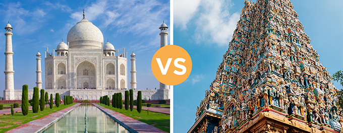North or South India: Where Should You Visit?