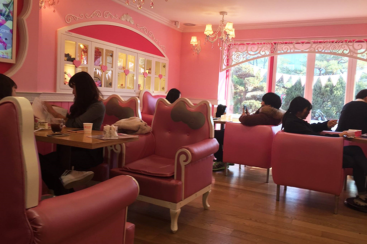 Hello Kitty Cafe, South Korea